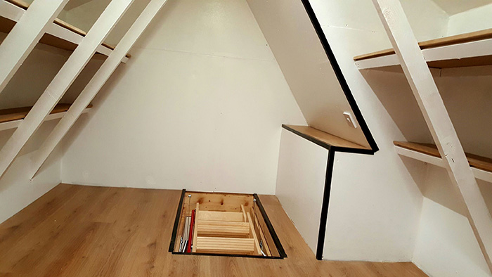 Attic Storage Solutions Attic Storage Conversions Long